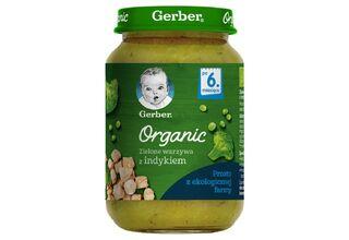 Słoiczki dla dzieci - Gerber Organic
