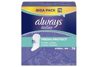 Wkładki higieniczne - Always