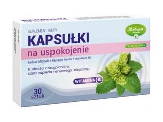 Środki uspokajające i nasenne bez recepty - Herbapol