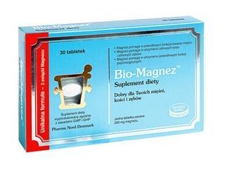 Suplementy z magnezem - Pharma Nord