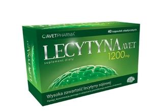 Lecytyna na pamięć - AVET PHARMA