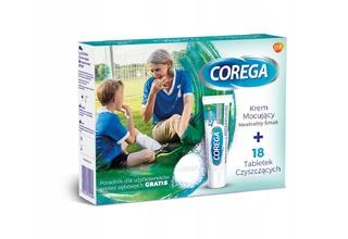 Środki do protez zębowych - Corega