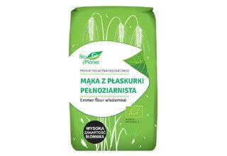 Mąka pełnoziarnista - Bio Planet