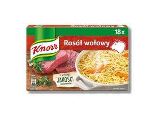 Kostki rosołowe, buliony - Knorr